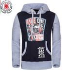 Standard Euro/US Size Men's Hoodie Fashion Spring Hooded Jacket Brand Men Sweatshirts100%Cooton Mens Casual Hoodie Plus Size