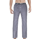 Men's Sleep Bottoms Pajama Pants Men Underwear Trousers Plaid Men Lounge Pants Pantaloon