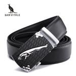 Men Belts Genuine Leather Luxury Designer Strap Male Belt for Man Automatic Buckle Jeans Cintos Ceinture