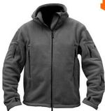 Man Fleece tad Tactical Softshell Jacket Thermal Polar Hooded Coat Outerwear Army Clothes