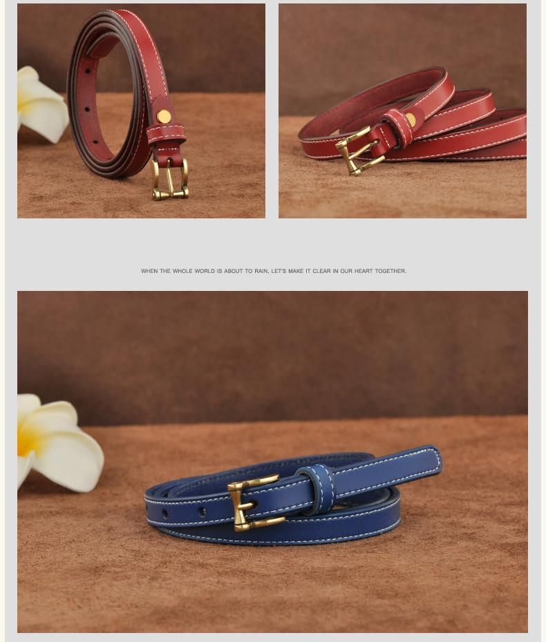 New Women Fashion Belts Genuine Leather Belt Woman Elastic Waistband Luxury Jeans Dress Female Top Quality Straps Ceinture Femme