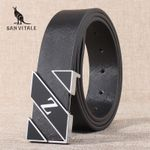New Designer Belts Men High Quality Cowhide Young Fashion Leather Buckle Men Belt Luxury Business Casual