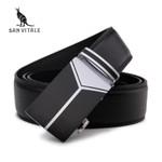 New men's Fashion leather mens black belts for men luxury designer belts for male Top quality strap