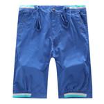 Men Shorts Mens Cargo Shorts Fashion Casual shorts Plaid Hem Pocket Mens Beach Short Pants Plus Size 29-38