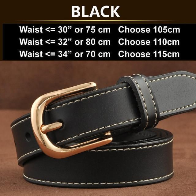 New Women Fashion Belts with Genuine Leather Elastic Buckle Waistband Luxury Jeans Dress Female Top Quality Strap Ceinture Femme