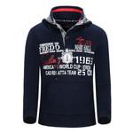 Men's Hoodie Winter Fashion Hooded Men Jacket Pocket Cusual Sweatshirt Good Print Letter Plus Size M-XXL Fredd Mashall 26026