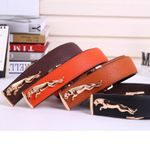 New Fashion PU leather men's belt woman fashion luxury designer belts for male Top quality strap female