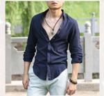 Cotton Linen Shirts Man Summer White Shirt Social Gentleman Shirts Men Ultra Thin Casual Shirt British Fashion Clothes