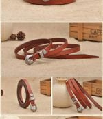 New Women Fashion Belts Genuine Leather Waistband Black Red Luxury Jeans Dress Female Top Quality Straps Ceinture Femme