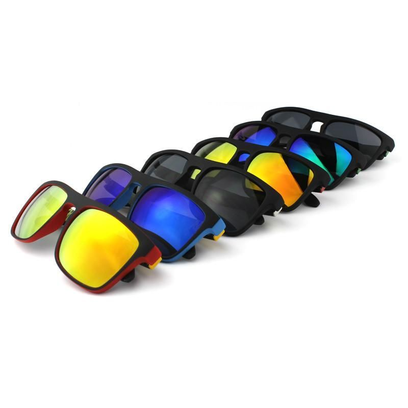 Highly Recommended Mirror Sunglasses Men Surfing Sport Sun Glasses Women With Peanut Case