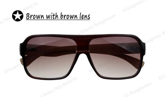 New Frame Square Wooden Sunglasses Men Retro Vintage Eyewear Male Glasses Oculos