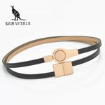 New Women Fashion Belts Genuine Leather Elegant Elastic Waist Luxury Jeans Dress Female High Quality Straps Ceinture Femme