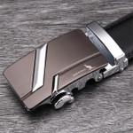 Famous Belt Men 100% Good Quality Cowskin Genuine Luxury Leather Men's Belts for Men,Strap Metal Automatic Buckle