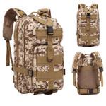 2020 Nylon Tactical Backpack Military Backpack Waterproof Army Rucksack Outdoor Camping Hiking Fishing Large Capacity Bags