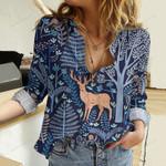 Deer Cotton And Linen Casual Shirt DT241002