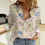Hedgehog Cotton And Linen Casual Shirt QA261009