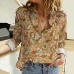 Hedgehog Cotton And Linen Casual Shirt QA281012