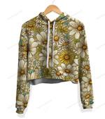 Sunflower - Daisy Crop Top Hoodie KH281002