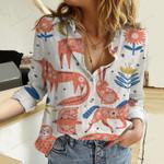 Scandinavian Woodland Cotton And Linen Casual Shirt QA291026