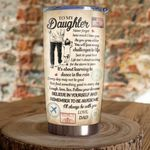 To My Daughter  - Dad And Daughter  - Email Tumbler KH301002
