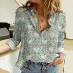 Leghorn Chicken Cotton And Linen Casual Shirt QA301006
