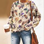 Steampunk Unisex All Over Print Cotton Sweatshirt KH180113