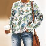 Marine Life Unisex All Over Print Cotton Sweatshirt KH180116