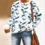 Flying Bats Unisex All Over Print Cotton Sweatshirt QA190104