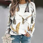 Hog Nosed Bat - Bats Unisex All Over Print Cotton Sweatshirt KH250118