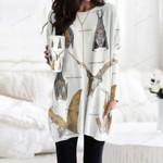 Hog Nosed Bat - Bats Pocket Long Top Women Blouse KH250118