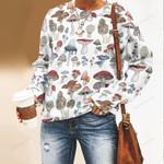 Mushroom Species Unisex All Over Print Cotton Sweatshirt QA260110