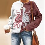 Octopus Unisex All Over Print Cotton Sweatshirt KH260110