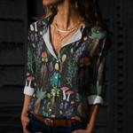 Herbology Cotton And Linen Casual Shirt QA280109