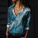 Hammerhead Sharks Cotton And Linen Casual Shirt QA280111