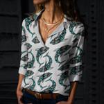 Shark Cotton And Linen Casual Shirt CH290114