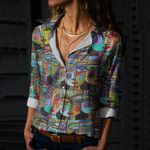 Hippie Cotton And Linen Casual Shirt CH290131
