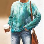 Coral Reef Unisex All Over Print Cotton Sweatshirt QA290106