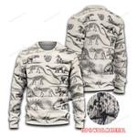 Dinosaur Fossils Ugly Sweaters QA130107