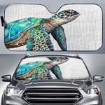 Sea Turtle Car Sunshade QA290102