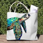 Sea Turtle Tote Bag QA290102