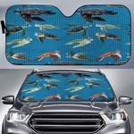 Sea Turtles Of The World Car Sunshade QA280106