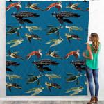 Sea Turtles Of The World Blanket QA280106