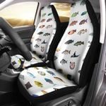 Caribbean Reef Life - Scuba Diving Car Seat Cover QA280110