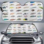 Caribbean Reef Life - Scuba Diving Car Sunshade QA280110