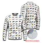 Caribbean Reef Life - Scuba Diving Ugly Sweaters QA280110