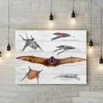 Greater Mouse Tailed Bat - Bats Canvas Prints Type A KH250120