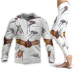 Greater Mouse Tailed Bat - Bats Hoodie + Leggings KH250120