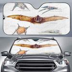 Greater Mouse Tailed Bat - Bats Car Sunshade KH250120