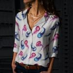 Jellyfish Cotton And Linen Casual Shirt QA020214
