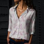 Jellyfish Cotton And Linen Casual Shirt QA020215